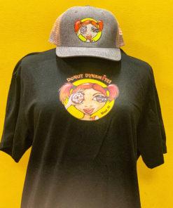 Donut Dynamite black t-shirt