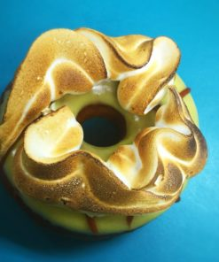 Lilikoi Caramel Meringue Donut