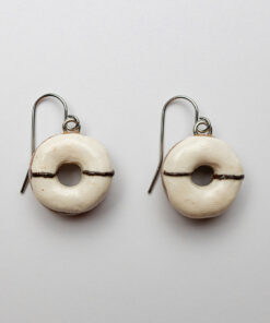 Maui Vanilla Bean Donut Earrings