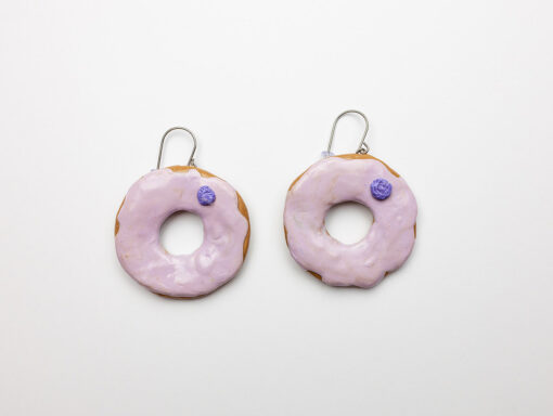 Molokai Sweet Potato Donut Earrings
