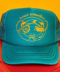keiki trucker hat jade