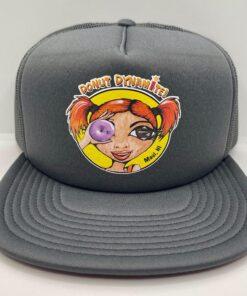 gray trucker hat donut dynamite maui